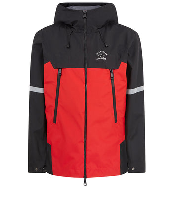 90s Fit Typhoon 20000 Jacket in Black/Red