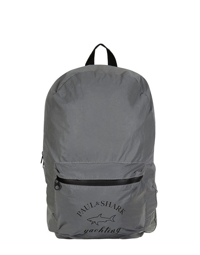 Reflective Backpack in Silver