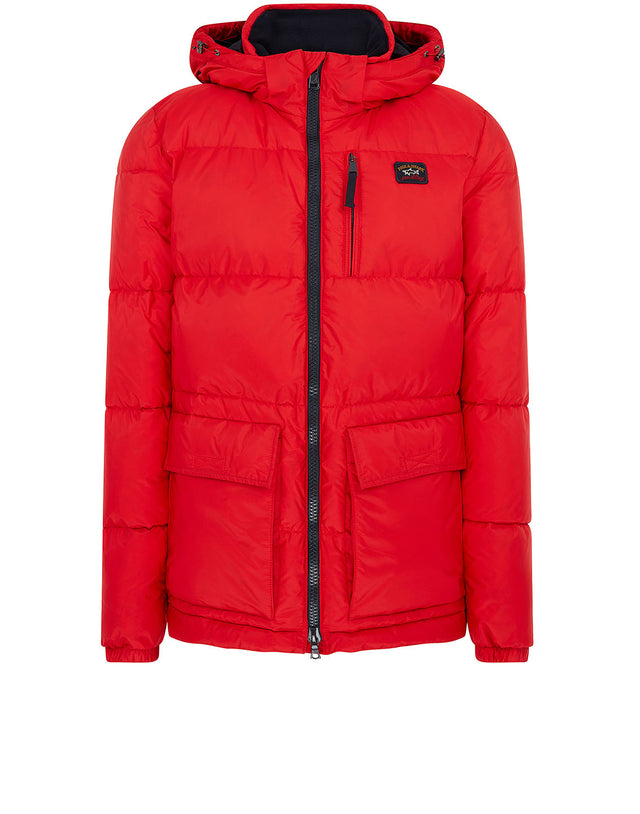 Puffer Jacket in Red