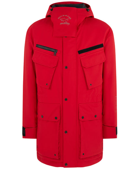 Typhoon 20000 Parka Jacket in Red