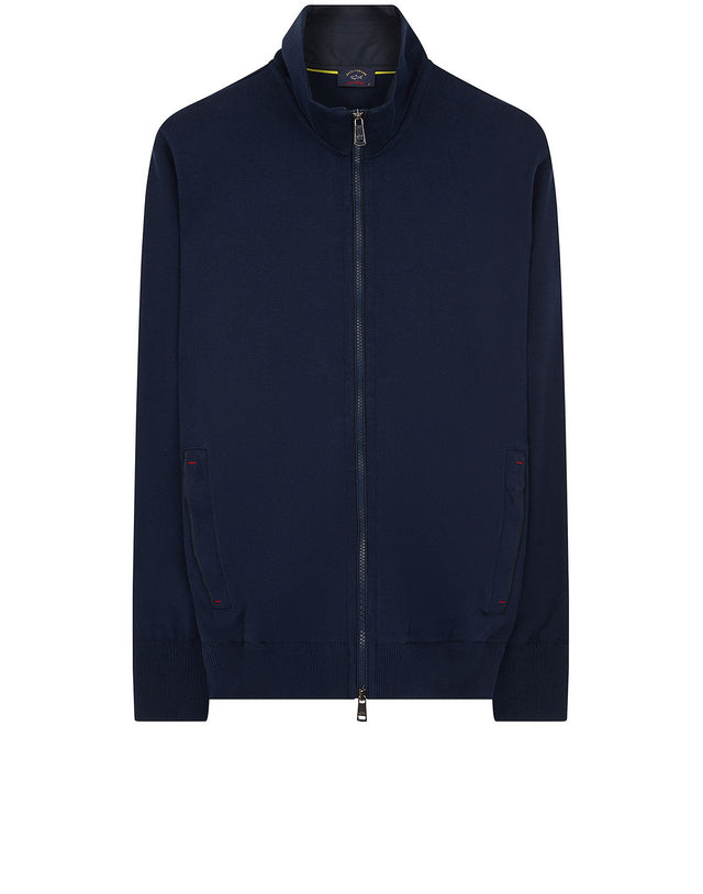 654134b1215d Zip Sweatshirt in Navy
