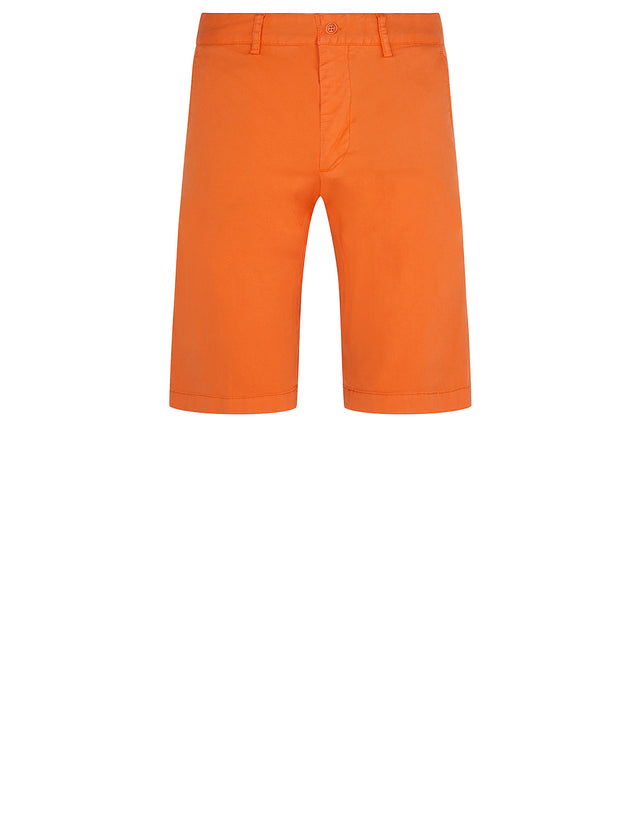 Chino Short in Orange