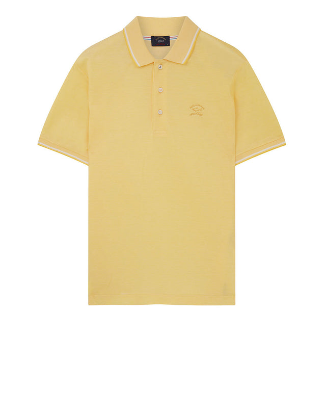 Heritage Shark Polo Shirt in Yellow