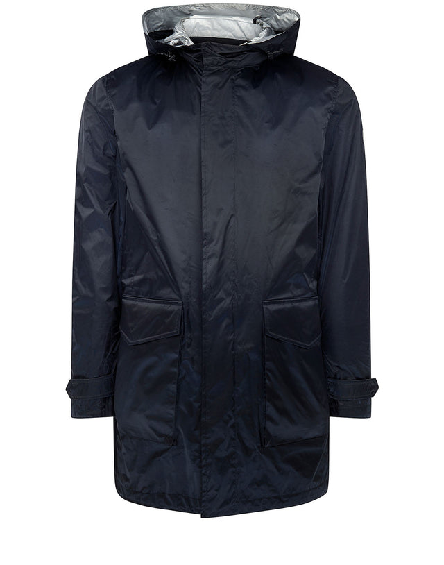 Inside Out Reversible Parka in Black