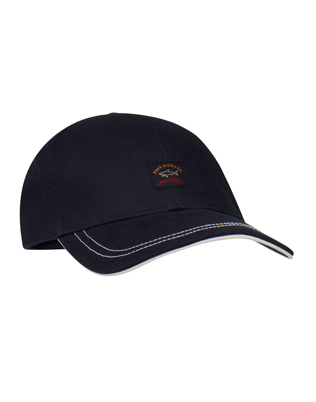 e8507642ce1 Logo Patch Cap in Navy