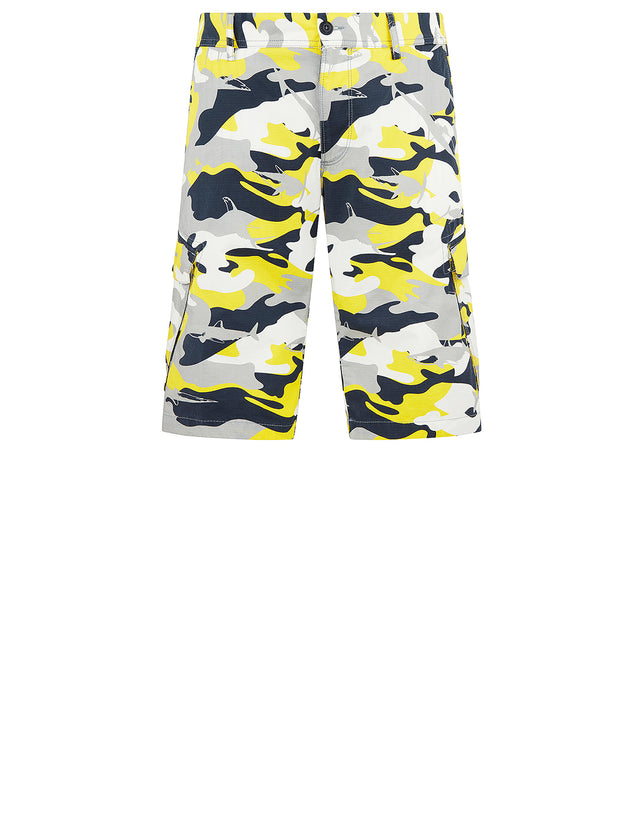 Sharkflage Cargo Shorts in Yellow Sharkflage