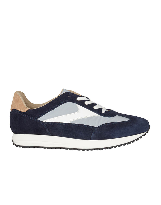 Suede Runner in Navy