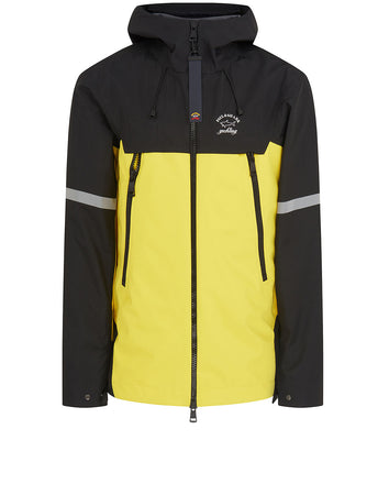 90s Fit Typhoon 20000 Jacket in Black/Yellow