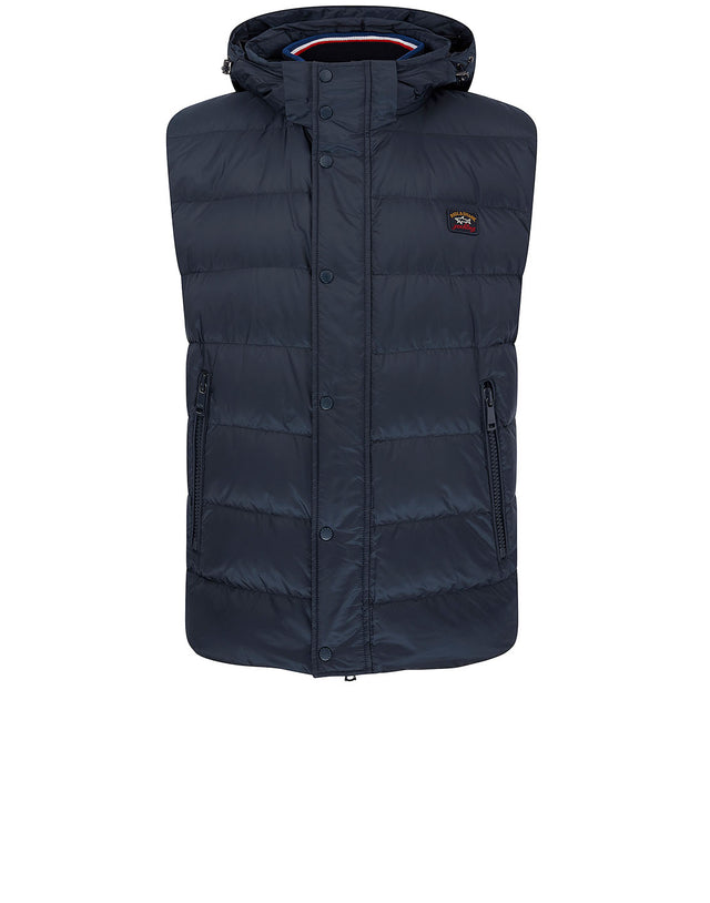 Padded Gilet in Navy
