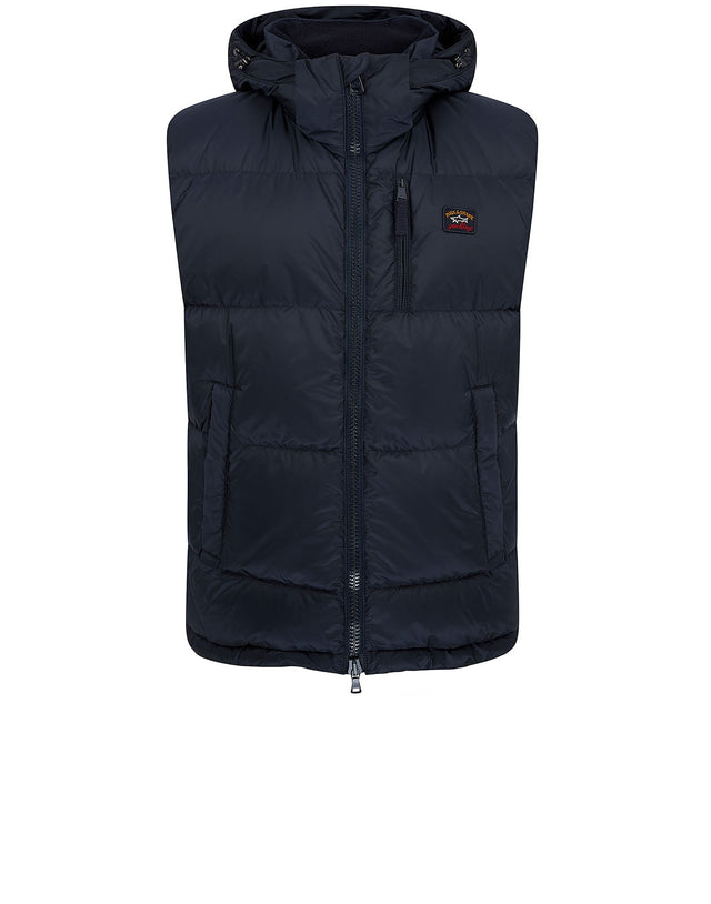 Padded Utility Gilet in Navy