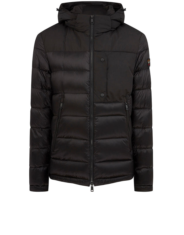 Ribbed Utility Jacket in Black