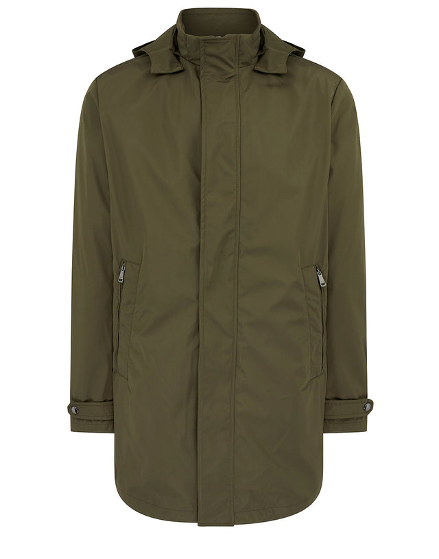 Solid Parka in Olive