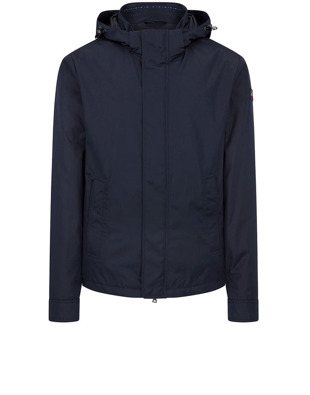 Padded Blouson in Navy