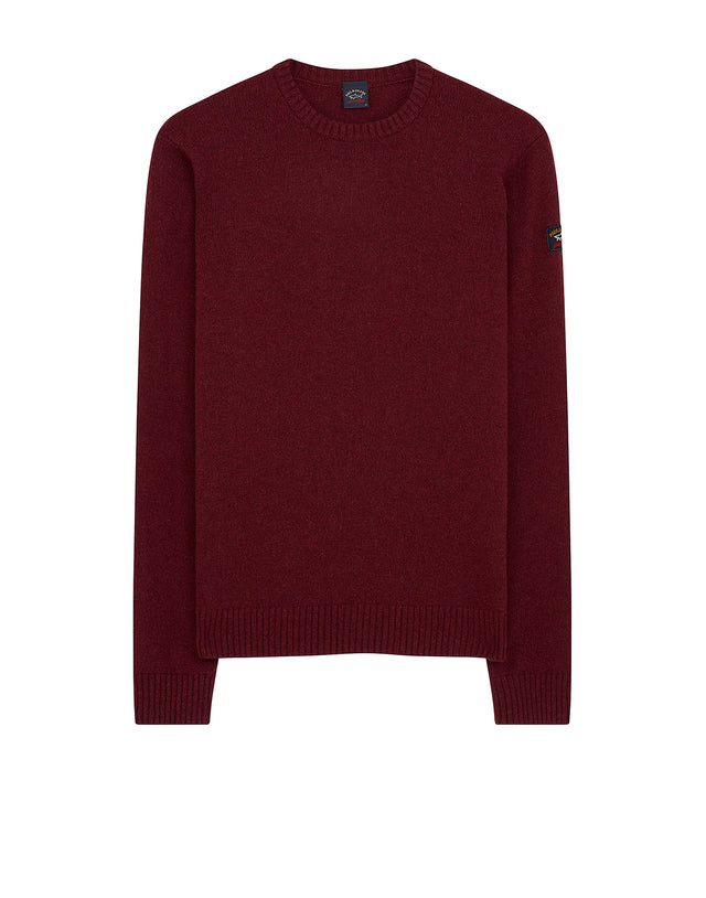 Paul & Shark Yachting Colours Of Shetland knitwear in red rrp £150.00 Kleidung & Accessoires Herrenmode