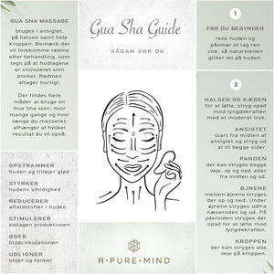 Gua Sha Heart - Jade - A PURE MIND