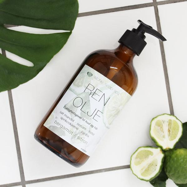 Ren Olie Bergamot/Citron – 450 ml - A PURE MIND