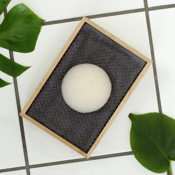 Konjac Ansigtssvamp - Natural - A PURE MIND