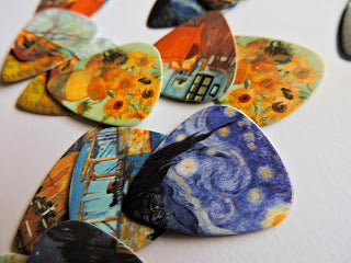 Van Gogh Guitar Picks