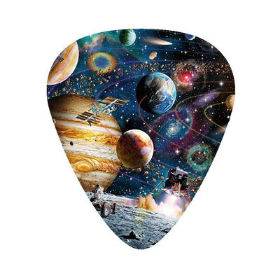 Space Guitar Picks set - 12 Pack