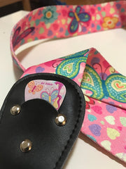 Girly guitar strap