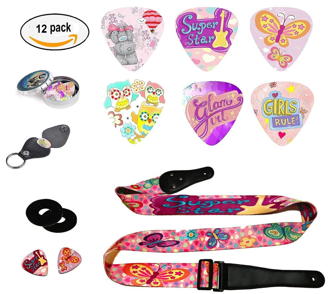 Girty Guitar Gift Set
