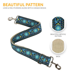Jacquard Woven Handbag Strap - Art Tribute