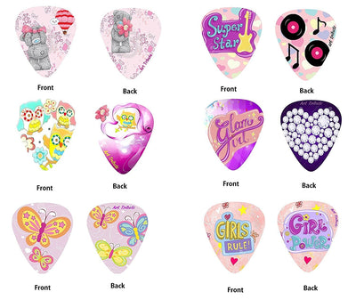 Girly Pink Guitar Picks