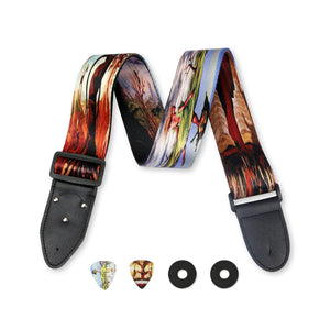 Surreal Art Guitar Strap - Art Tribute