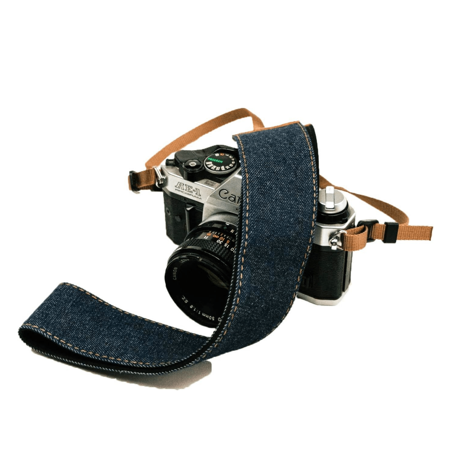 Denim Jeans Camera Strap - Art Tributes