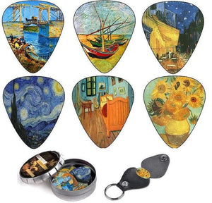 Vincent Van Gogh Guitar Picks