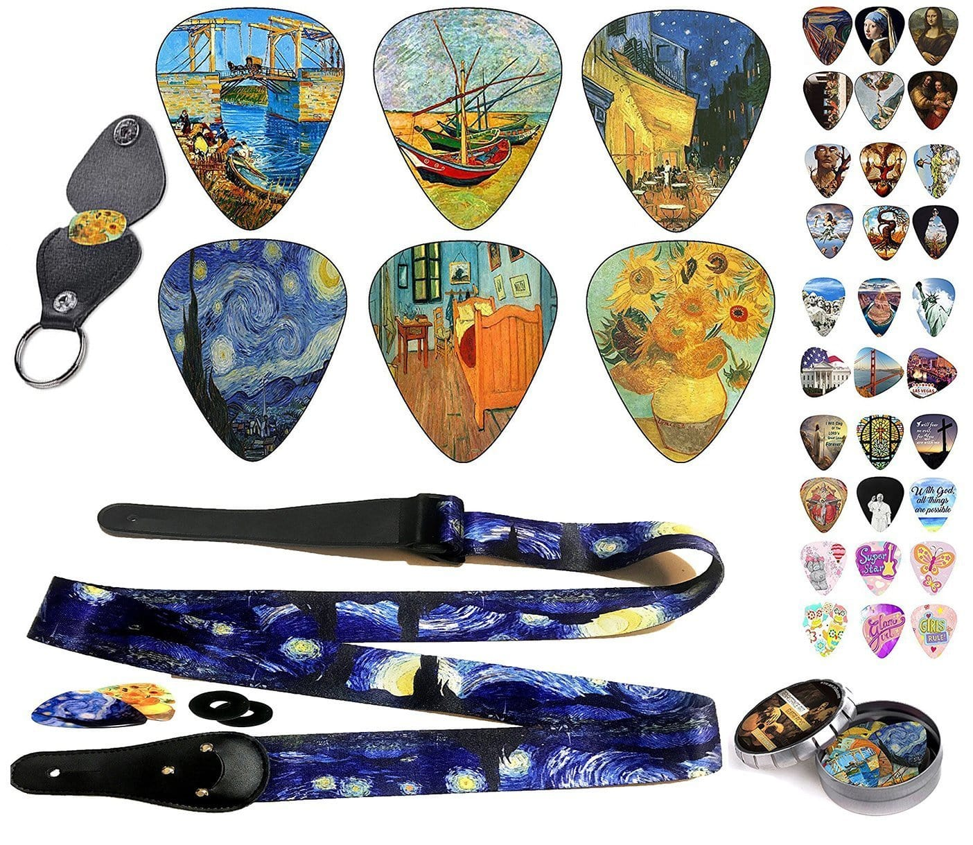 Van Gogh Guitar Gift Set