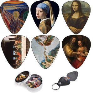 Renaissance guitar picks