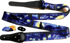 Starry Night Guitar Strap
