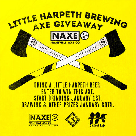 NAXE Axe Giveaway at 3 Crow
