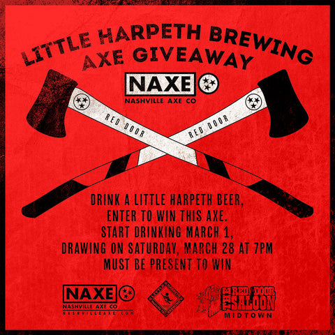 NAXE GIVEAWAY AT RED DOOR (MIDTOWN)