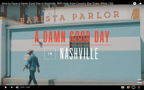 Little Harpeth Brewing GQ Magazine Drake White Nashville Damn Good Day Scouts Barbershop