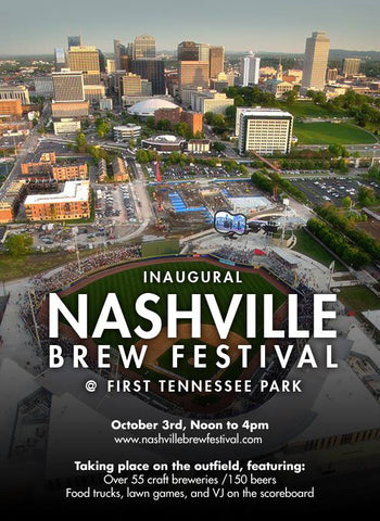 Little Harpeth Brewing Nashville Brew Festival Sounds First Tennessee Park