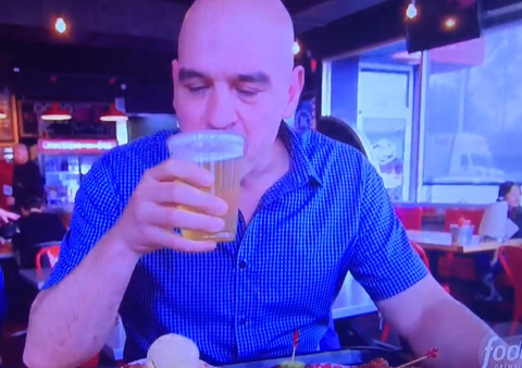 Little Harpeth Brewing Michael Symon Hattie B's Chicken Scratch The Food Network's Burgers Brew & Que