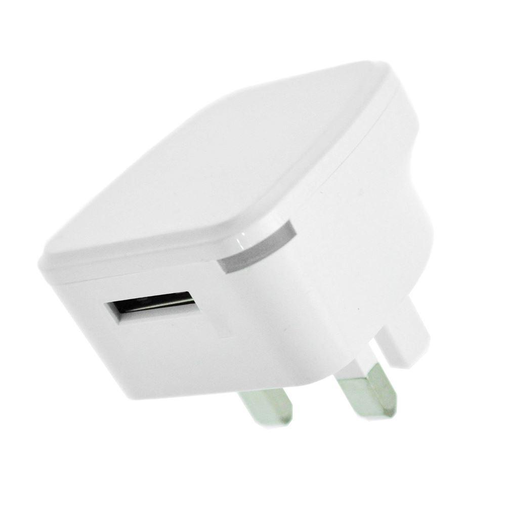 C3 Single USB 2 AMP Mains Charger by  Vibe Centre