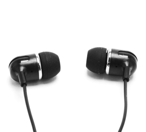 C3 Xtra Bass Headphones with 3.5mm Socket Mobile compatible - Black