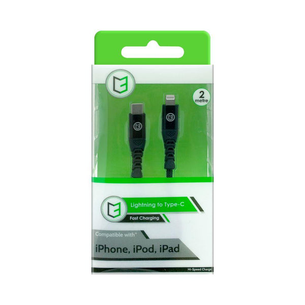 C3 iPhone Lightning Braided Cable to Type-C Cable 2Metre