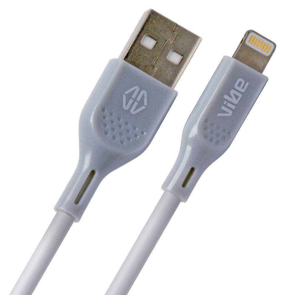 Grey 1 Metre Apple Approved MFi Lightning Cable