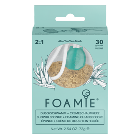 Foamie Shower Sponge - Aloe You Vera Much
