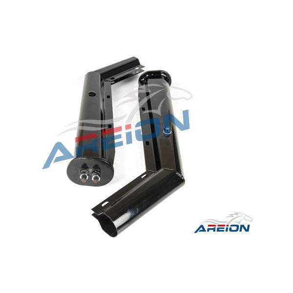 "28"" Angled Spring Loaded Mud Flap Hanger with Close Cap for Semi Truck"