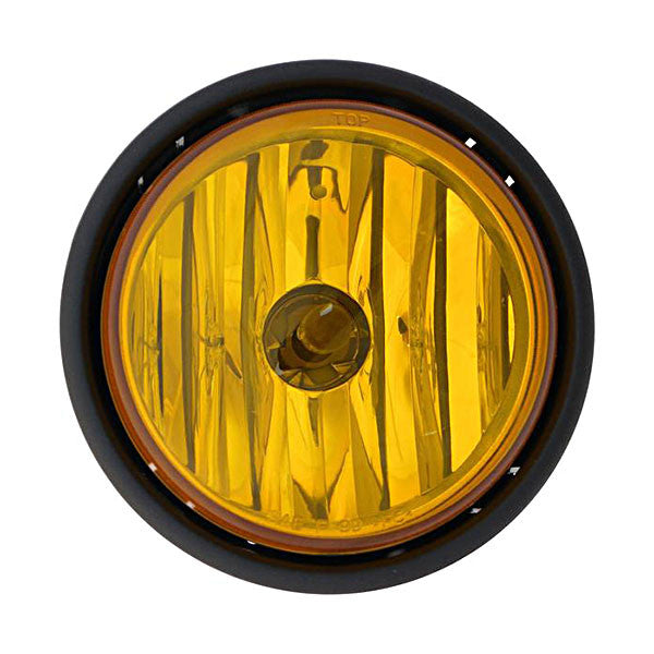 Freightliner Columbia fog light amber