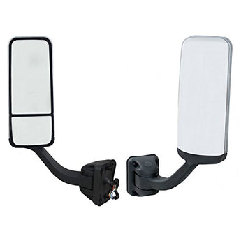 Freightliner Cascadia Mirrors come with mounting arm and chrome cover