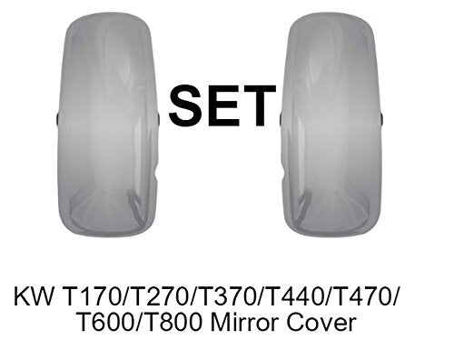 Kenworth T170/T270/T370/T440/T470/T600/T800 Chrome Door Mirror Cover