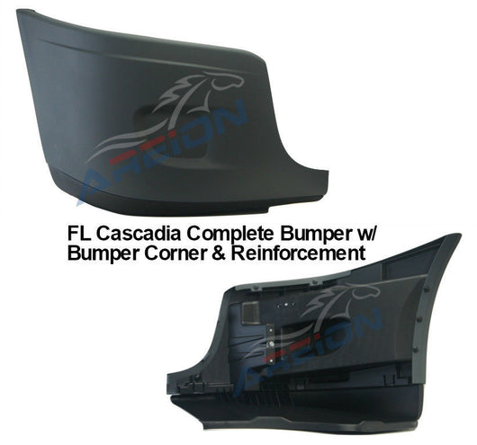 Freightliner Cascadia Right Bumper Reinforcement & Cover Assembled OEM 2127300009 Z2128619001
