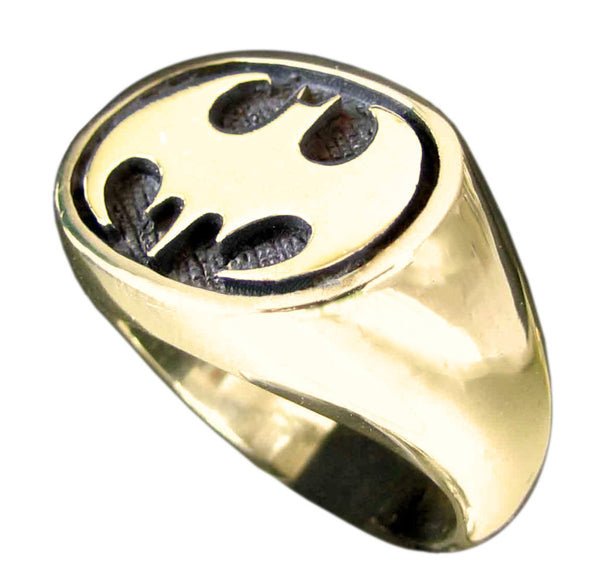 Bronze Batman Ring - THE DARK KNIGHT Batman Jewelry