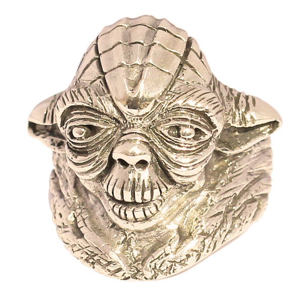 Bronze YODA RING Star Wars Jewelry Master Jedi Ring in Bronze - Custom Fitted Sizes